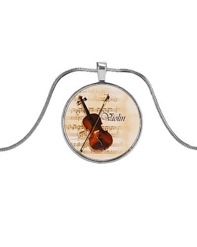Violin Unique necklace