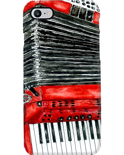 Red Accordion Phonecase