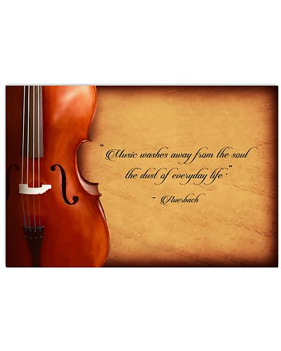 Cello Music washes away the dust