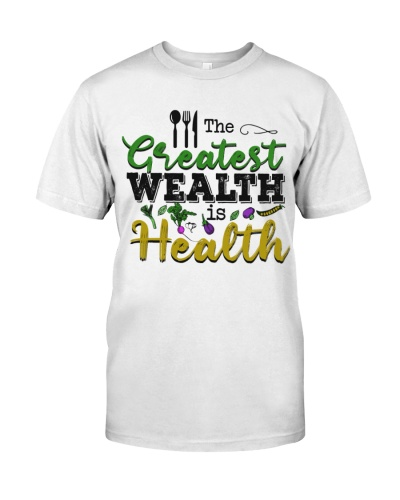Dietitian The greatest wealth is health