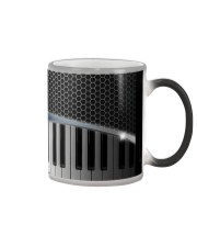 Pianist Piano Note Color Changing Mug tile