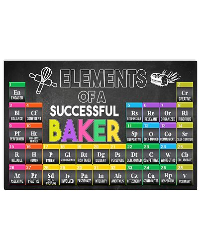 Baking Elements Of A Successful Baker