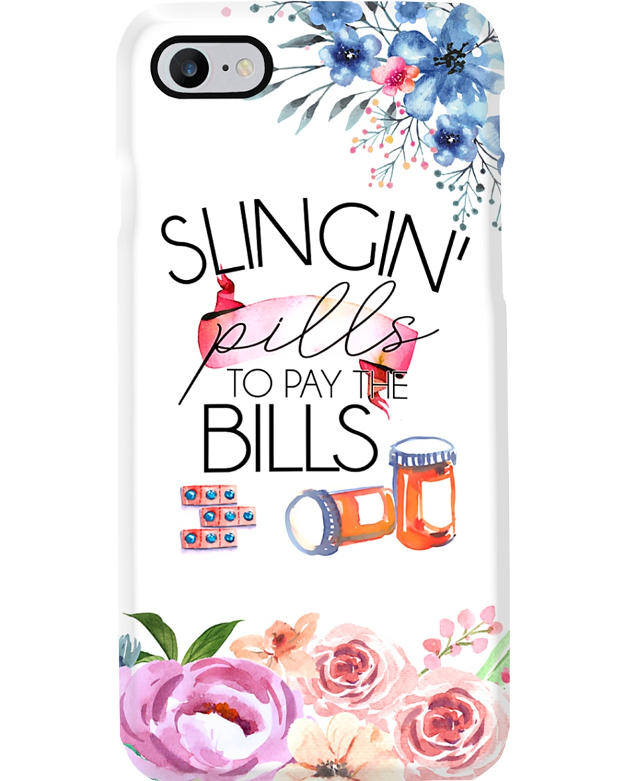 Pharmacist Slingin' Pills To Pay The Bills Phone Case