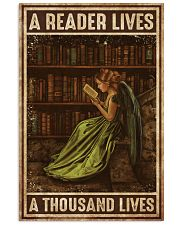 Librarian A Reader Lives A Thousand Lives 11x17 Poster front