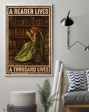Librarian A Reader Lives A Thousand Lives 11x17 Poster lifestyle-poster-1