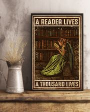 Librarian A Reader Lives A Thousand Lives 11x17 Poster lifestyle-poster-3