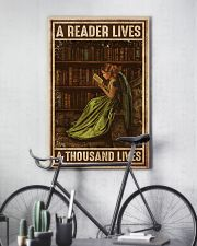 Librarian A Reader Lives A Thousand Lives 11x17 Poster lifestyle-poster-7