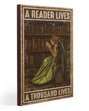 Librarian A Reader Lives A Thousand Lives 20x30 Gallery Wrapped Canvas Prints thumbnail