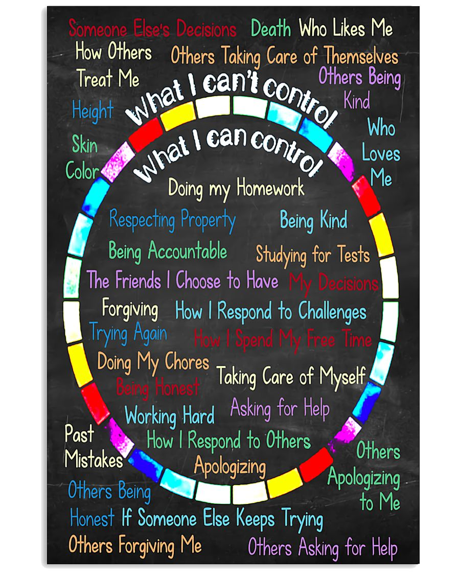 Social Worker I can control 11x17 Poster