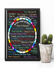 Social Worker I can control 11x17 Poster lifestyle-poster-8