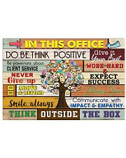 Accountant - Think outside the box 17x11 Poster front
