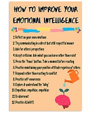 Social Worker Improve Your Emotional Intelligence 11x17 Poster front