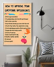 Social Worker Improve Your Emotional Intelligence 11x17 Poster lifestyle-poster-1