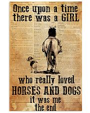Horse Girl - There was a girl who loved horses 11x17 Poster front