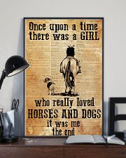 Horse Girl - There was a girl who loved horses 11x17 Poster lifestyle-poster-2