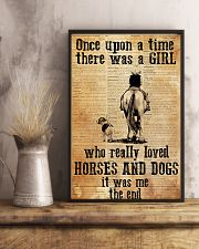 Horse Girl - There was a girl who loved horses 11x17 Poster lifestyle-poster-3