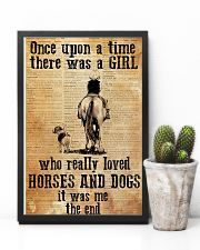Horse Girl - There was a girl who loved horses 11x17 Poster lifestyle-poster-8