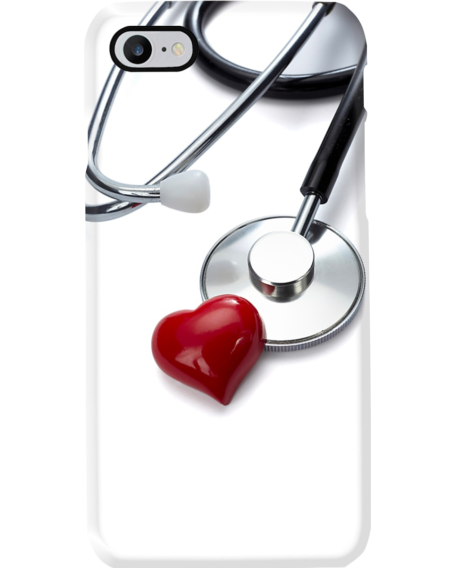 Cardiologist Real Stethoscope Phone Case