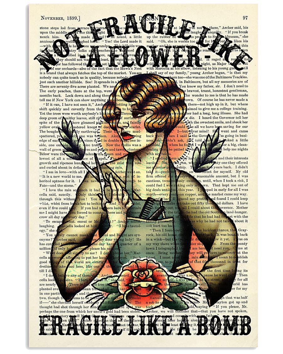Fragile Hairdresser 11x17 Poster