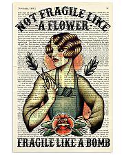 Fragile Hairdresser 11x17 Poster front