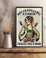 Fragile Hairdresser 11x17 Poster lifestyle-poster-3