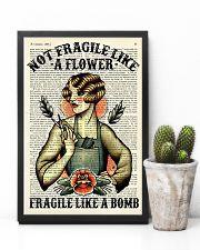 Fragile Hairdresser 11x17 Poster lifestyle-poster-8
