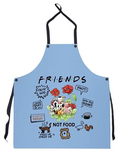 Vegan apron friends