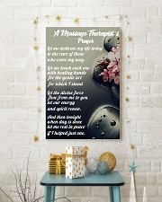 Massage Therapist 's Prayer 11x17 Poster lifestyle-holiday-poster-3