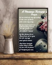 Massage Therapist 's Prayer 11x17 Poster lifestyle-poster-3