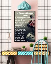Massage Therapist 's Prayer 11x17 Poster lifestyle-poster-6