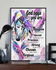 Horse Girl God Says You Are 11x17 Poster lifestyle-poster-2