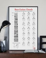 Bass Guitar Chords 11x17 Poster lifestyle-poster-2
