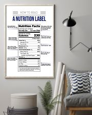 How to read a nutrition label 16x24 Poster lifestyle-poster-1