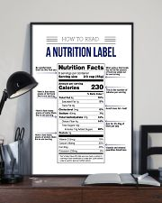 How to read a nutrition label 16x24 Poster lifestyle-poster-2