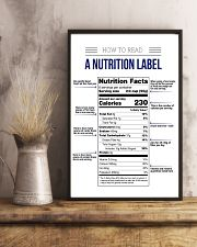 How to read a nutrition label 16x24 Poster lifestyle-poster-3