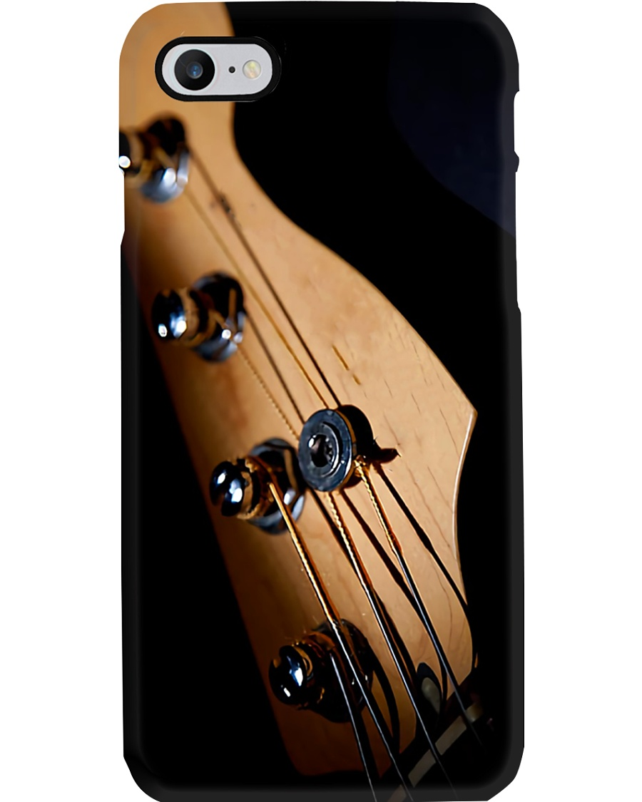 Headstock Bass Guitar Phone Case