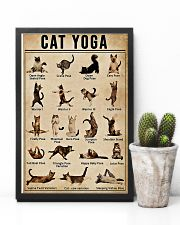 Cat Yoga 11x17 Poster lifestyle-poster-8