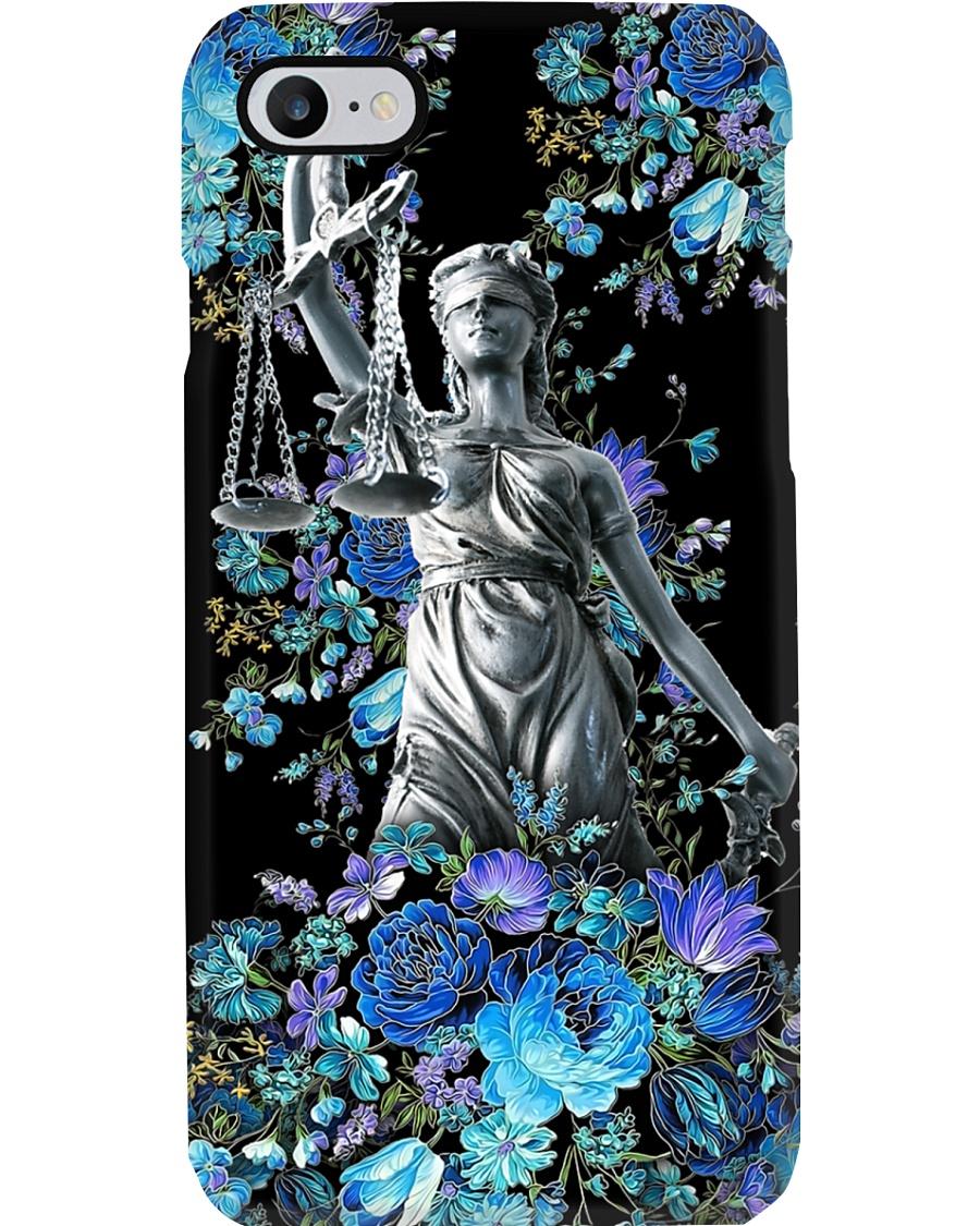 Justice Themis Paralegal  Phone Case