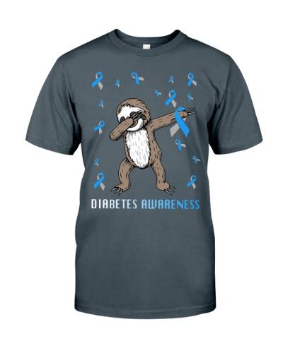 Diabetes Awareness Sloth