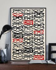 Optometrist Stacked Eye Glass 11x17 Poster lifestyle-poster-2