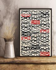 Optometrist Stacked Eye Glass 11x17 Poster lifestyle-poster-3