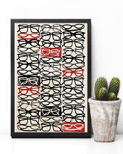Optometrist Stacked Eye Glass 11x17 Poster lifestyle-poster-8