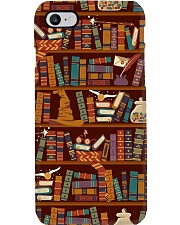 Librarian Bookshelf  Phone Case i-phone-7-case