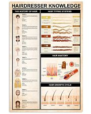 Hairdresser Knowledge 11x17 Poster front
