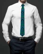 Optometrist Blue Eye Chart Tie aos-tie-lifestyle-front-01
