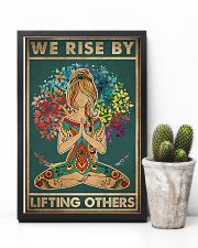Yoga We rise by lifting others 11x17 Poster lifestyle-poster-8