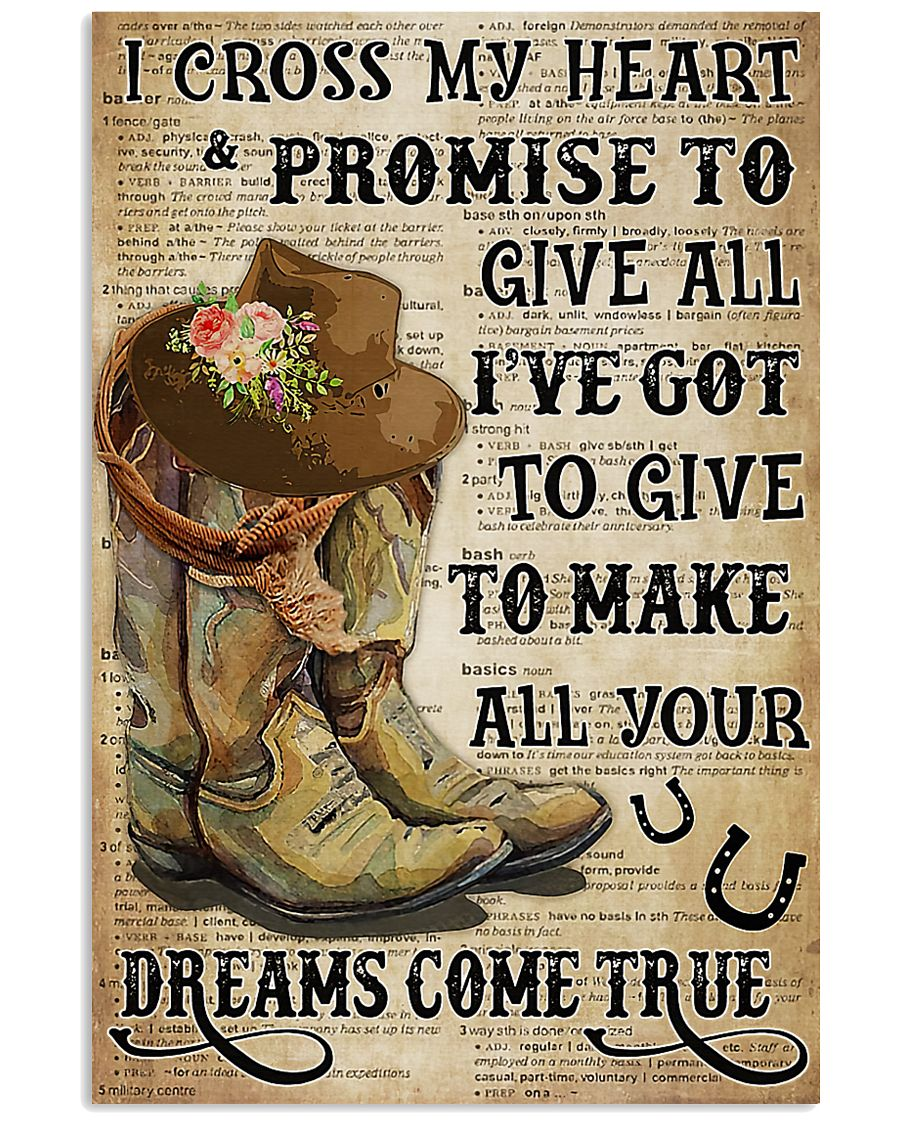 Horse Girl With Promise 11x17 Poster