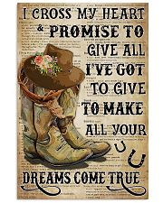 Horse Girl With Promise 11x17 Poster front
