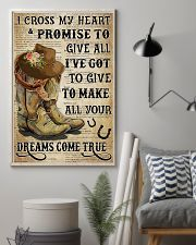 Horse Girl With Promise 11x17 Poster lifestyle-poster-1