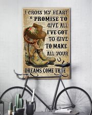 Horse Girl With Promise 11x17 Poster lifestyle-poster-7